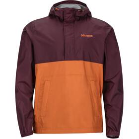 Marmot PreCip Jakke Herrer orange/rød